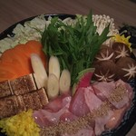 ichidori - 日向鶏と白湯出汁の水炊き鍋
