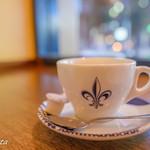 コーヒーハウス ニシヤ - コーヒー正面