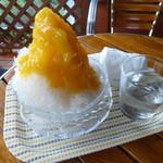すくばりテラス - かき氷