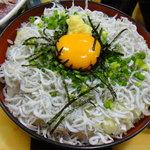 海鮮料理の店 岩沢 - 釜あげしらす丼(710円)登場!