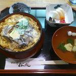 松風 - 上カツ丼
