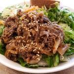 サラダボウル専門店 ウィズグリーン - 国産牛肉のプルコギサラダ