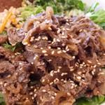 サラダボウル専門店 ウィズグリーン - 国産牛肉がたっぷり