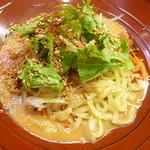 金蠍 - 金胡麻汁なし担々麺