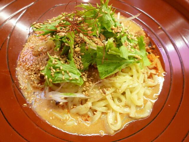 金蠍 汁なし担々麺>