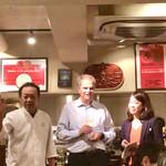 95575776 - 佐藤シェフのご挨拶。本日料理の説明が始まりました