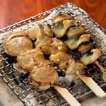 ひもの屋 Cafe&Bar - ホタテ、つぶ貝