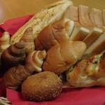 パリクロアッサン - 料理写真:買い求めた品々