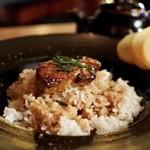 son-ju-cue - ザ・フォアグラ丼ひつまぶしスタイル