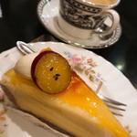 Fujiwara - 金時芋のタルトケーキ!             もっちりサツマイモのフィリングが美味しいo(^o^)o