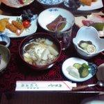 小枝旅館 - 料理写真:夕食(小枝旅館)