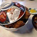 飯島食堂 - カツ丼1,100円