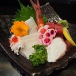万福寿司 - お造り盛り合わせ