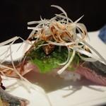 万福寿司 - 秋刀魚 にぎり