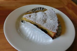 カフェ クリーク - クリームチーズとレーズンのタルト