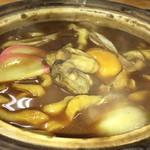 讃岐うどん六平 - 料理写真:冬限定  牡蠣入り煮込みうどん
