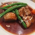 フランツクラブ浜松町  - 牛肉の赤ワイン煮込みランチ