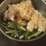 Gyouzasakabaootaya - 茹で鶏のネギだれ