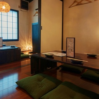 こだわりの和風個室で、ゆったりとご宴会、お食事を。