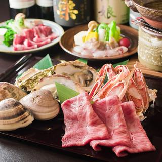 春夏秋冬の食材で仕上げられる、小鍋料理をご堪能ください