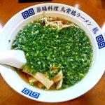 烏骨鶏ラーメン 龍 - 醤油ねぎラーメン \750
