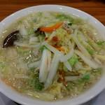 桶狭間タンメン - 料理写真:   桶タン 野菜増し 830円