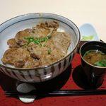兎に角 - スタミナ豚丼(850円)