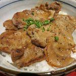 兎に角 - スタミナ豚丼のドアップ