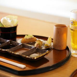 ◇ドリンク豊富◇限定日本酒、こだわりの生ビールなど各種充実。