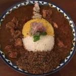95595895 - 3種あいめし(鰹出汁キーマ、チキンマサラ、スパイシービーフ)