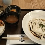 95595958 - 伊勢うどんとミニカレー丼 900円♪