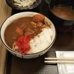 95595964 - ミニカレー丼 ♪