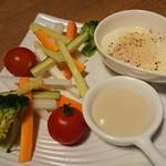 95598013 - スティック野菜のディップ