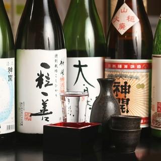 日本酒セルフバイキング