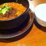 杏亭 - 黒胡麻坦々麺