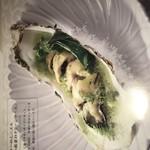 欧風食堂 カンパーニャ - カキのガーリックバター