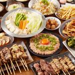 やきとりスタンダード - 料理写真:3980円コース