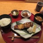 伊豆の旬 やんも - むつ西京漬焼 1500円
