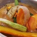 ユニバーサルキッチン - 野菜ゴロゴロのカレーポット