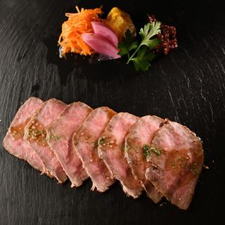 山形牛のお肉で贅沢!