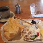 茶房 喜楽歩 - 料理写真:モーニング 500円