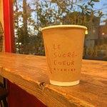 95611104 - ホットコーヒー(¥410)                       コーヒーは吹田コリーナコーヒーさん                       ブラジルをペーパードリップで