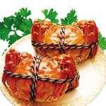 上海蟹の醤油煮込み