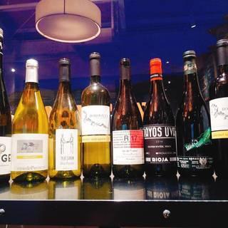 自然派ワインを気軽に愉しめる♪