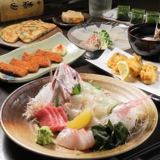 広島の食材を使用したコースのご用意あり