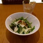 トマティーナ - ランチセットのサラダ