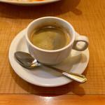 トマティーナ - ランチセットのホットコーヒー