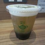 彩茶房 - 岩塩チーズティー(四季春茶) 500円 & タピオカトッピング 100円