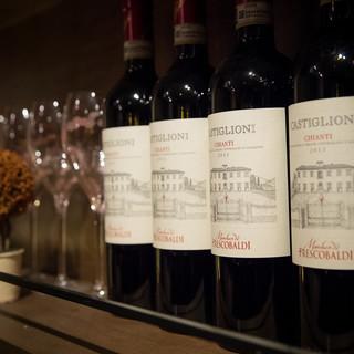 140種以上のワインを480円~からお楽しみ頂けます!
