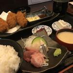 95616066 - 大粒カキフライ定食